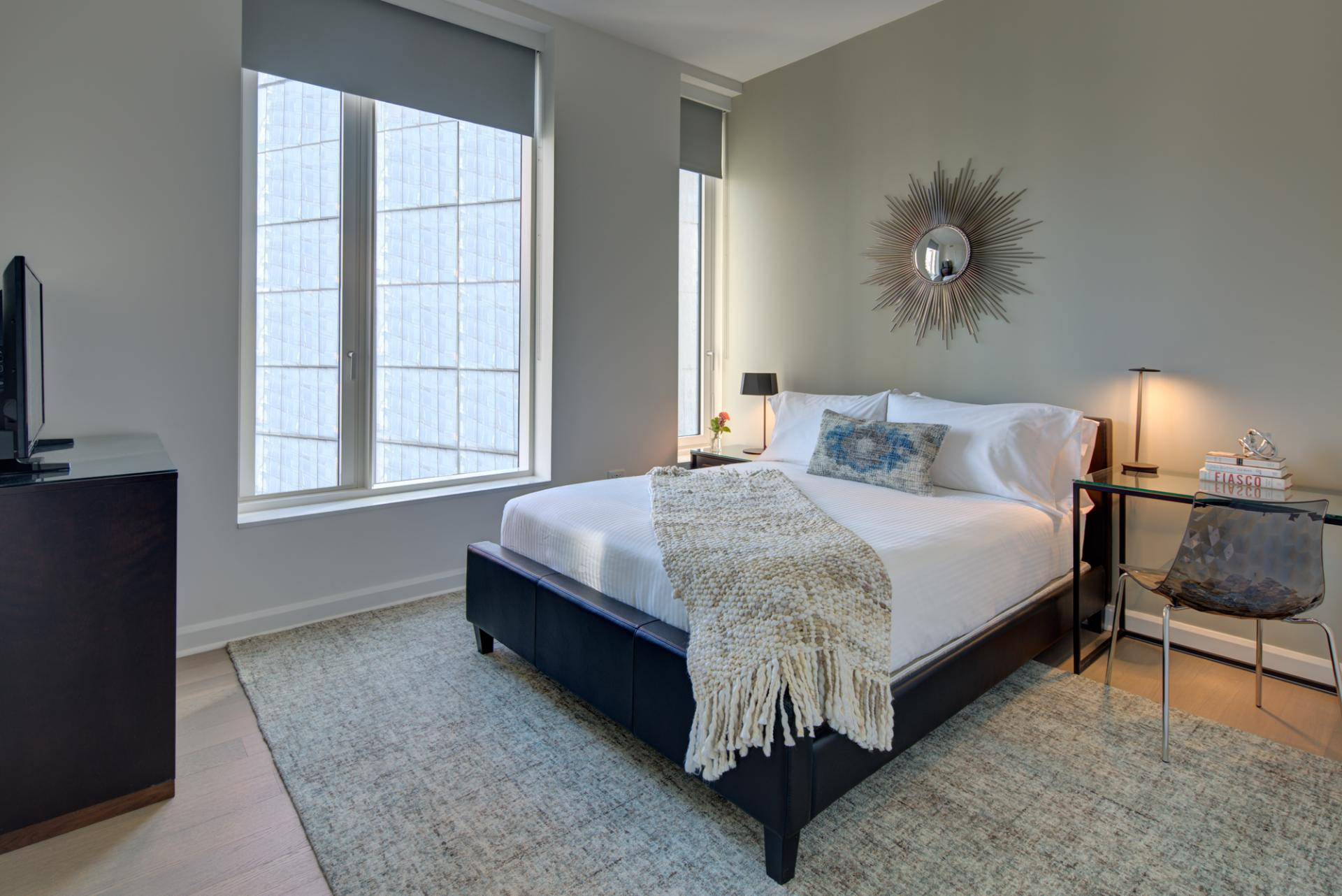 Bedroom at One Hudson Yards Apartments - Citybase Apartments