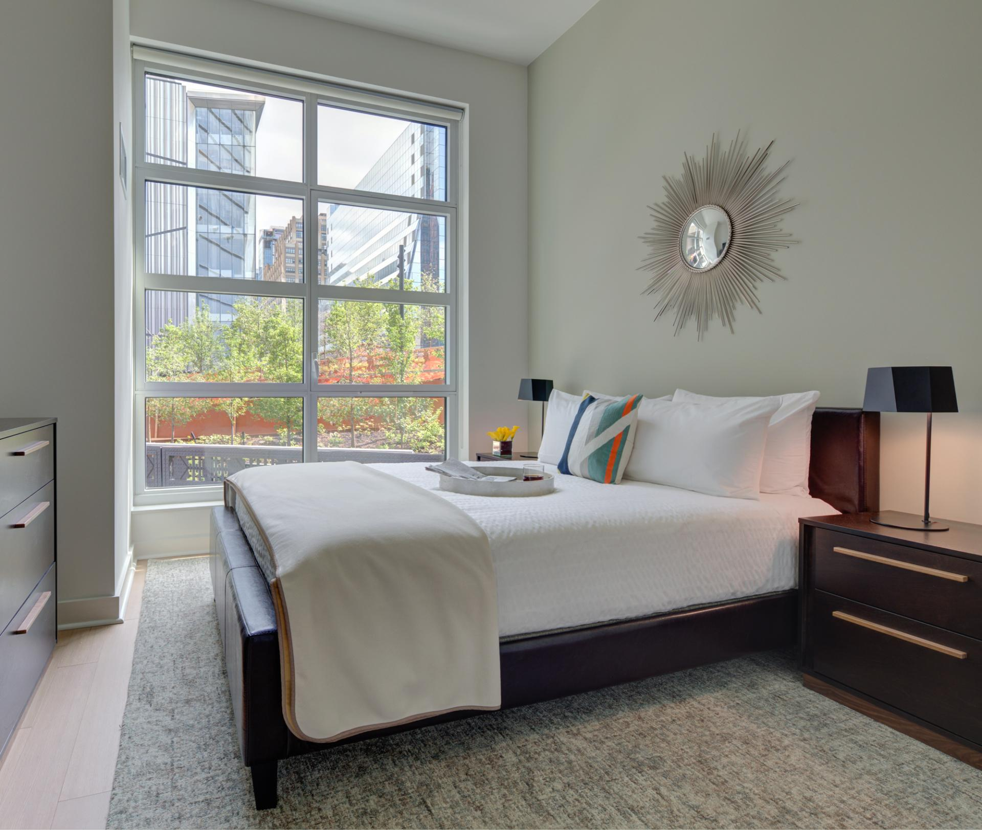 Bedroom at Abington House Apartments - Citybase Apartments