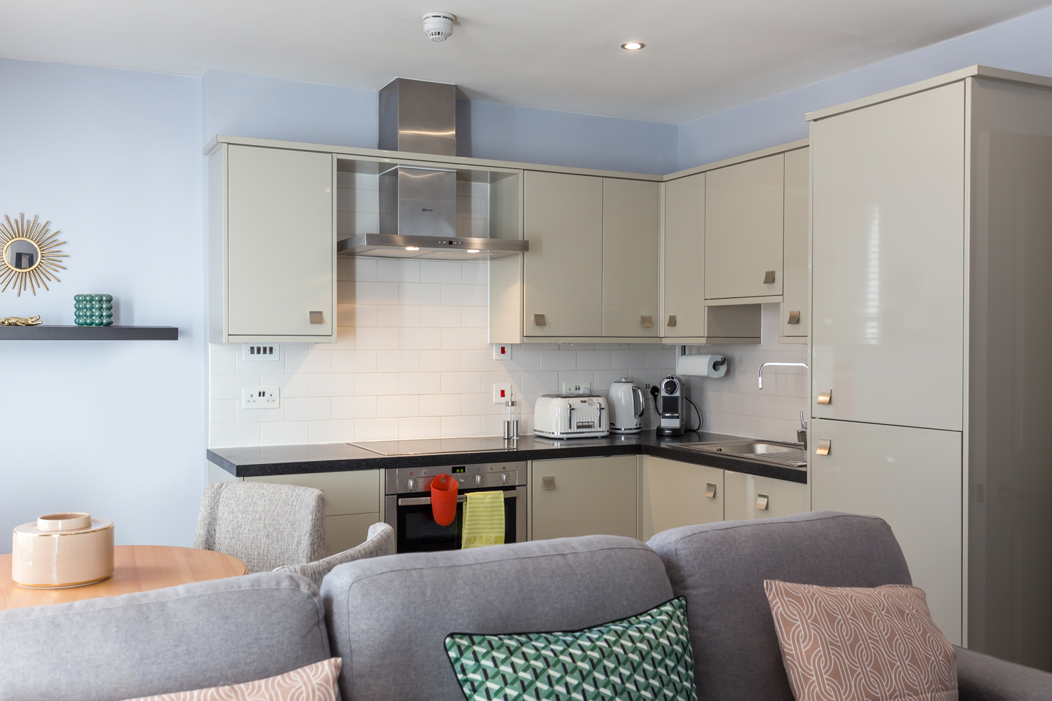 Kitchen at Covent Garden Serviced Apartments - Citybase Apartments