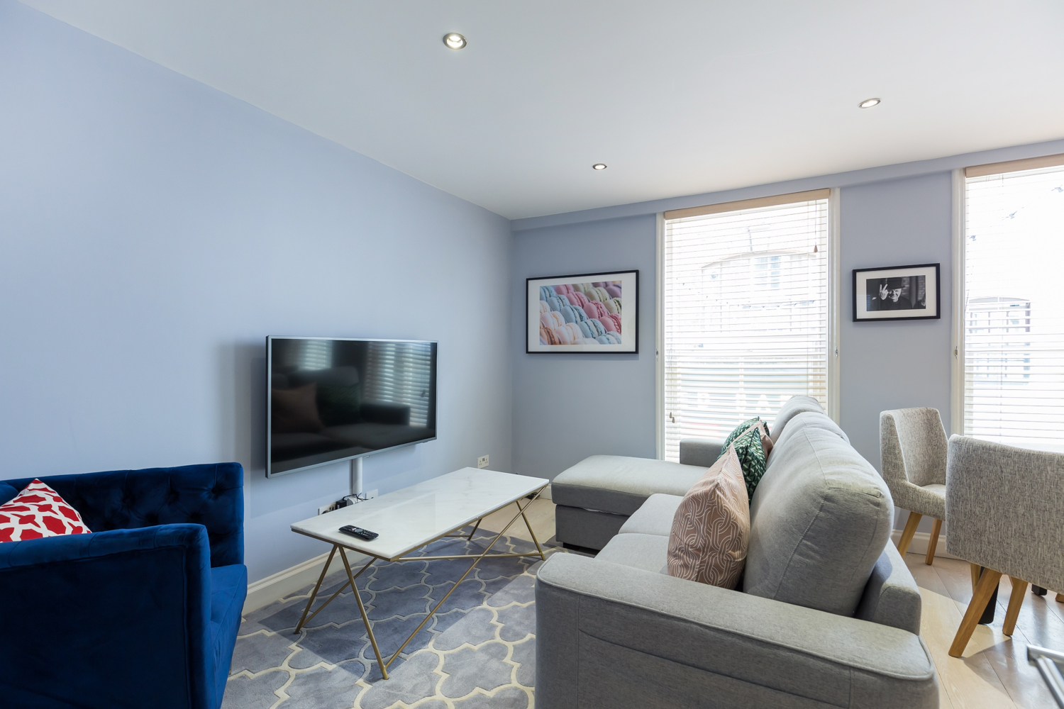 Living room at Covent Garden Serviced Apartments - Citybase Apartments