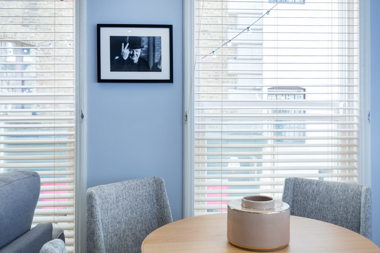 Dining table at Covent Garden Serviced Apartments - Citybase Apartments
