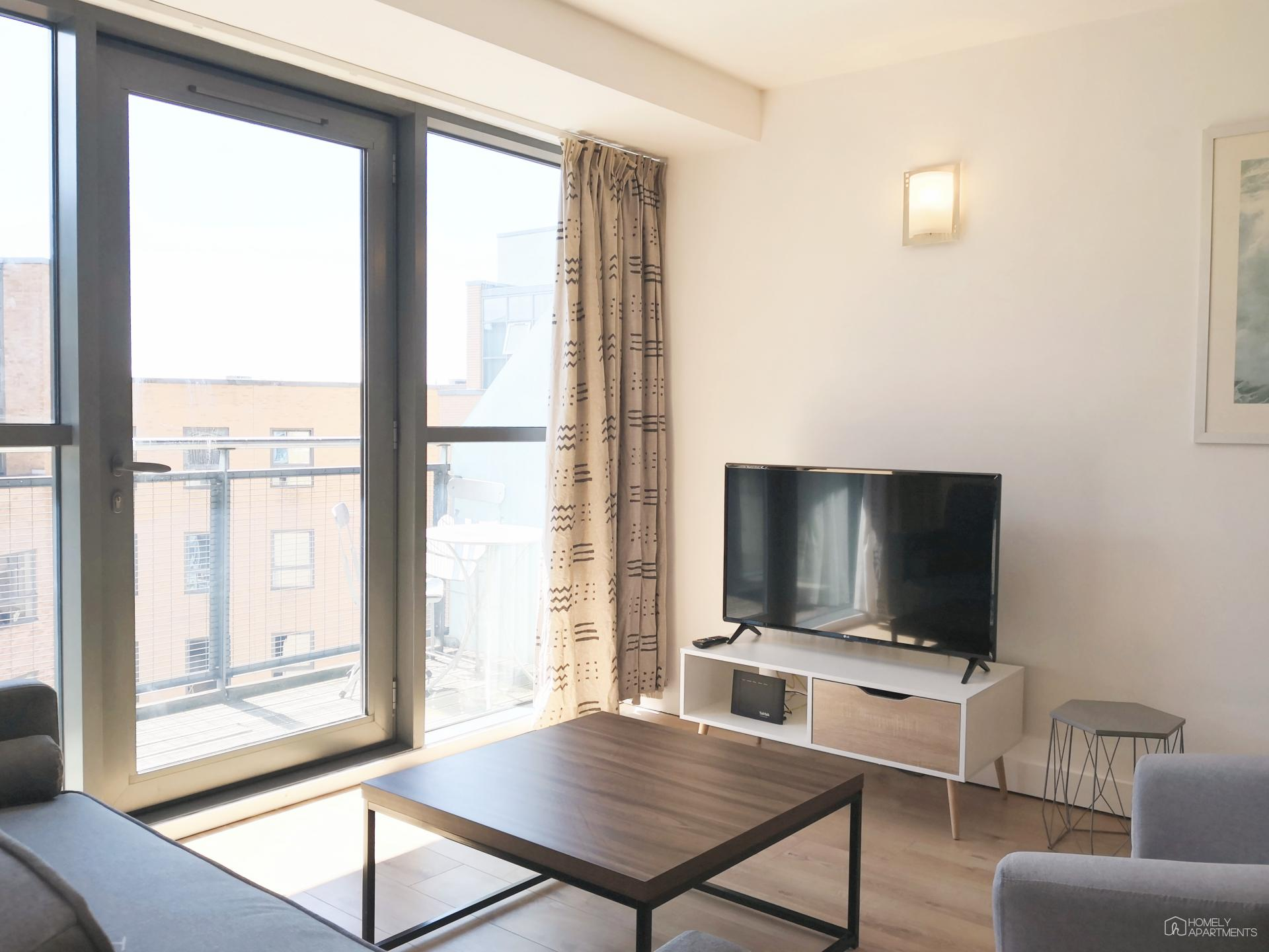 TV at West One Serviced Apartments - Citybase Apartments
