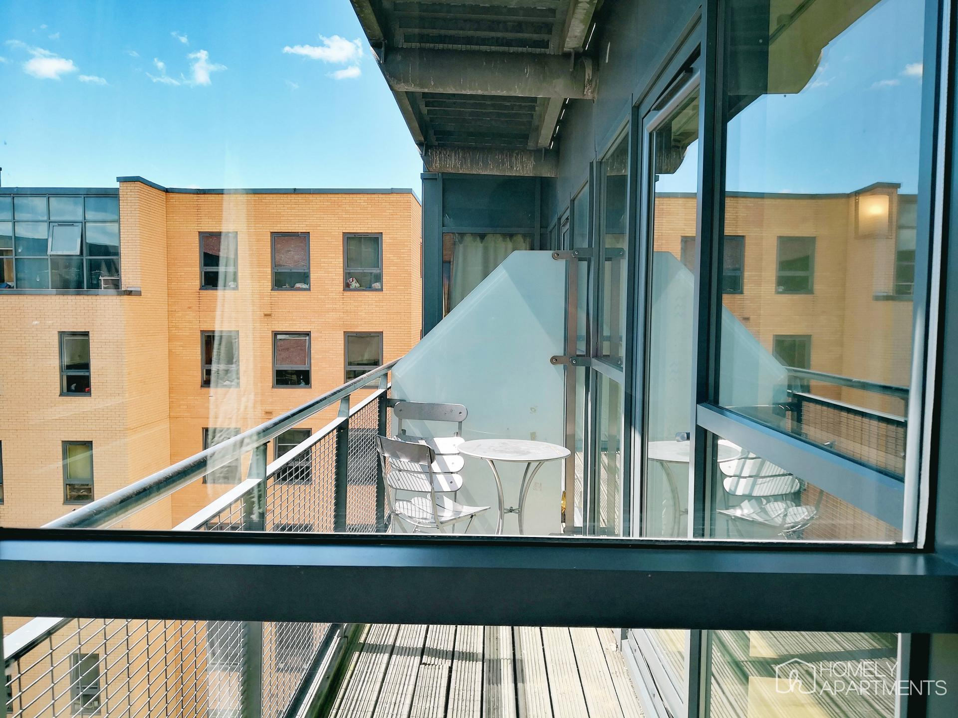 Balcony at West One Serviced Apartments - Citybase Apartments