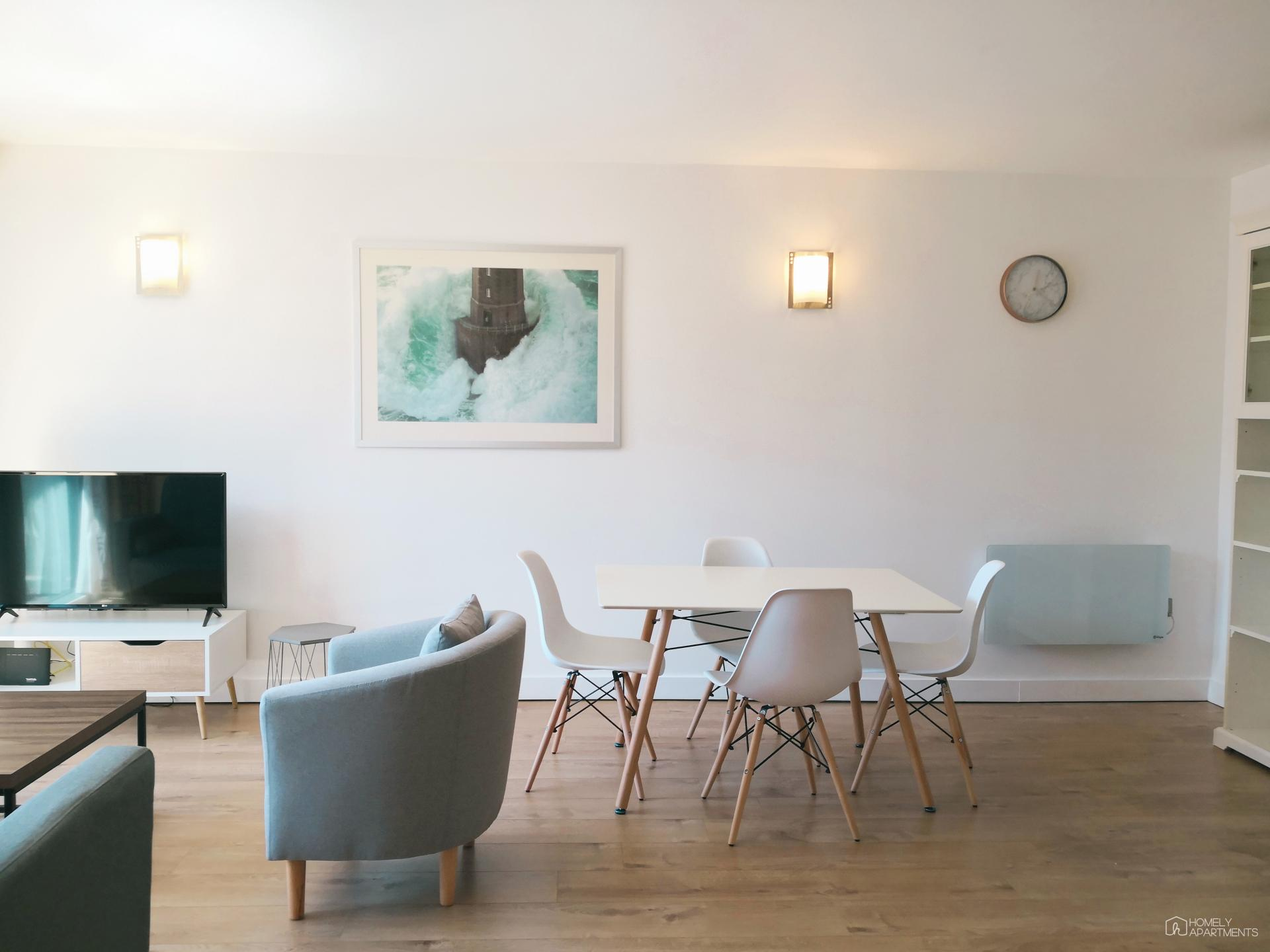 Chairs at West One Serviced Apartments - Citybase Apartments