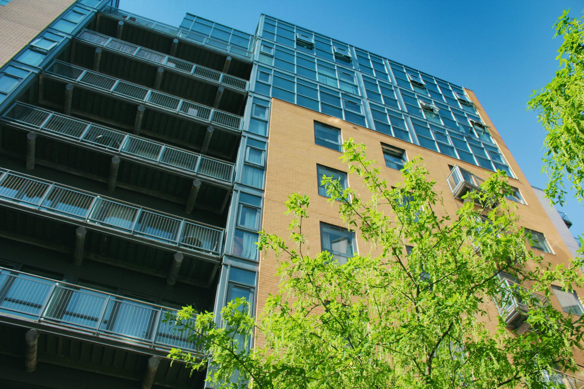 Building at West One Serviced Apartments - Citybase Apartments