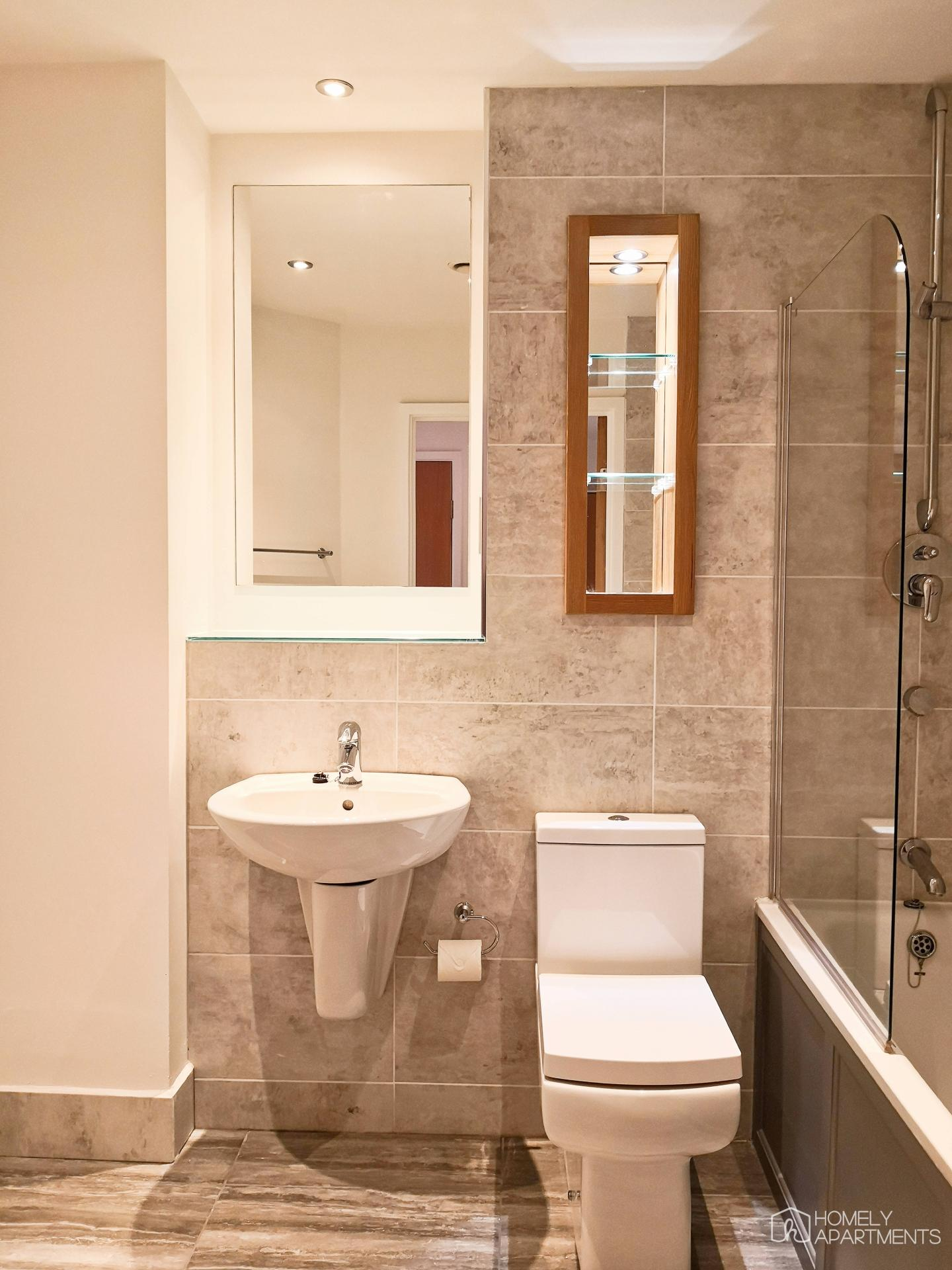 Sink at West One Serviced Apartments - Citybase Apartments
