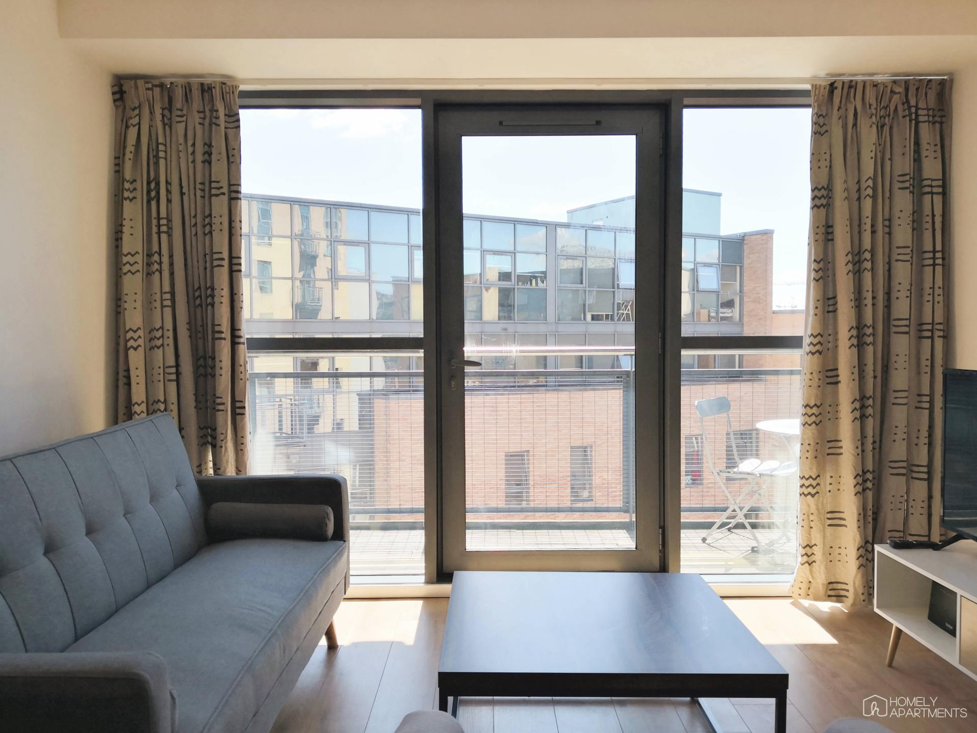 View at West One Serviced Apartments - Citybase Apartments