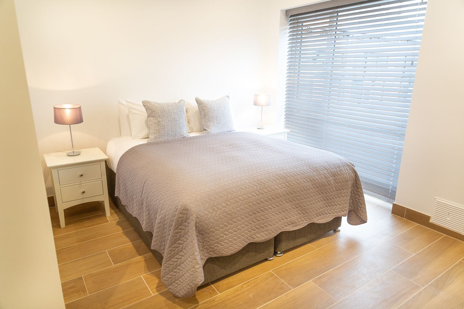 Bed at Franklin House Apartments, King's Hedges, Cambridge - Citybase Apartments