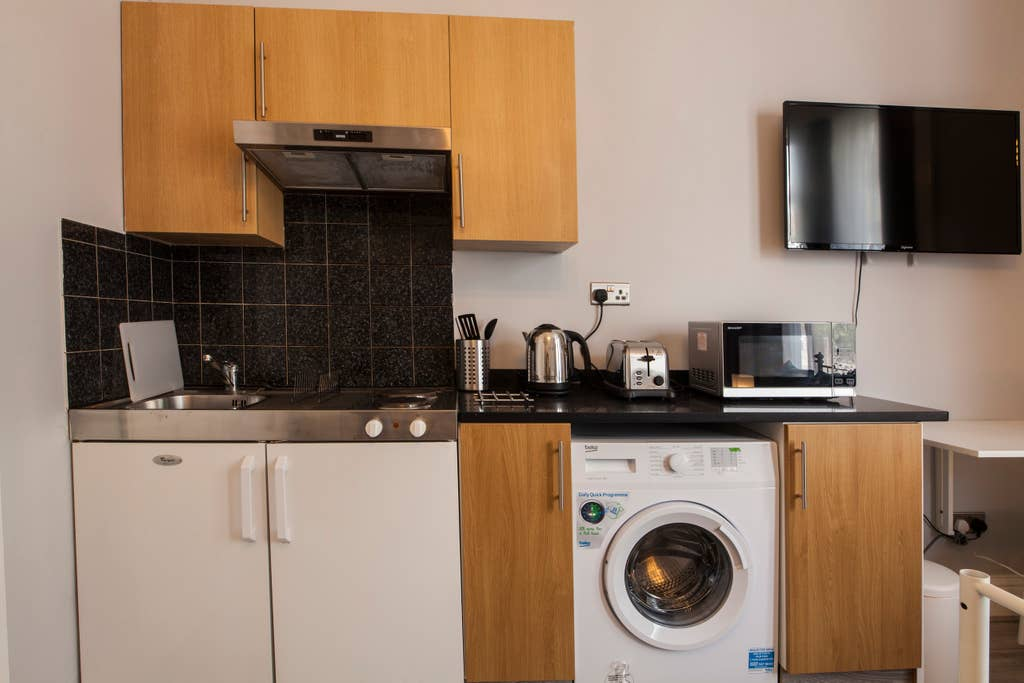Kitchen at West London Serviced Apartments - Citybase Apartments