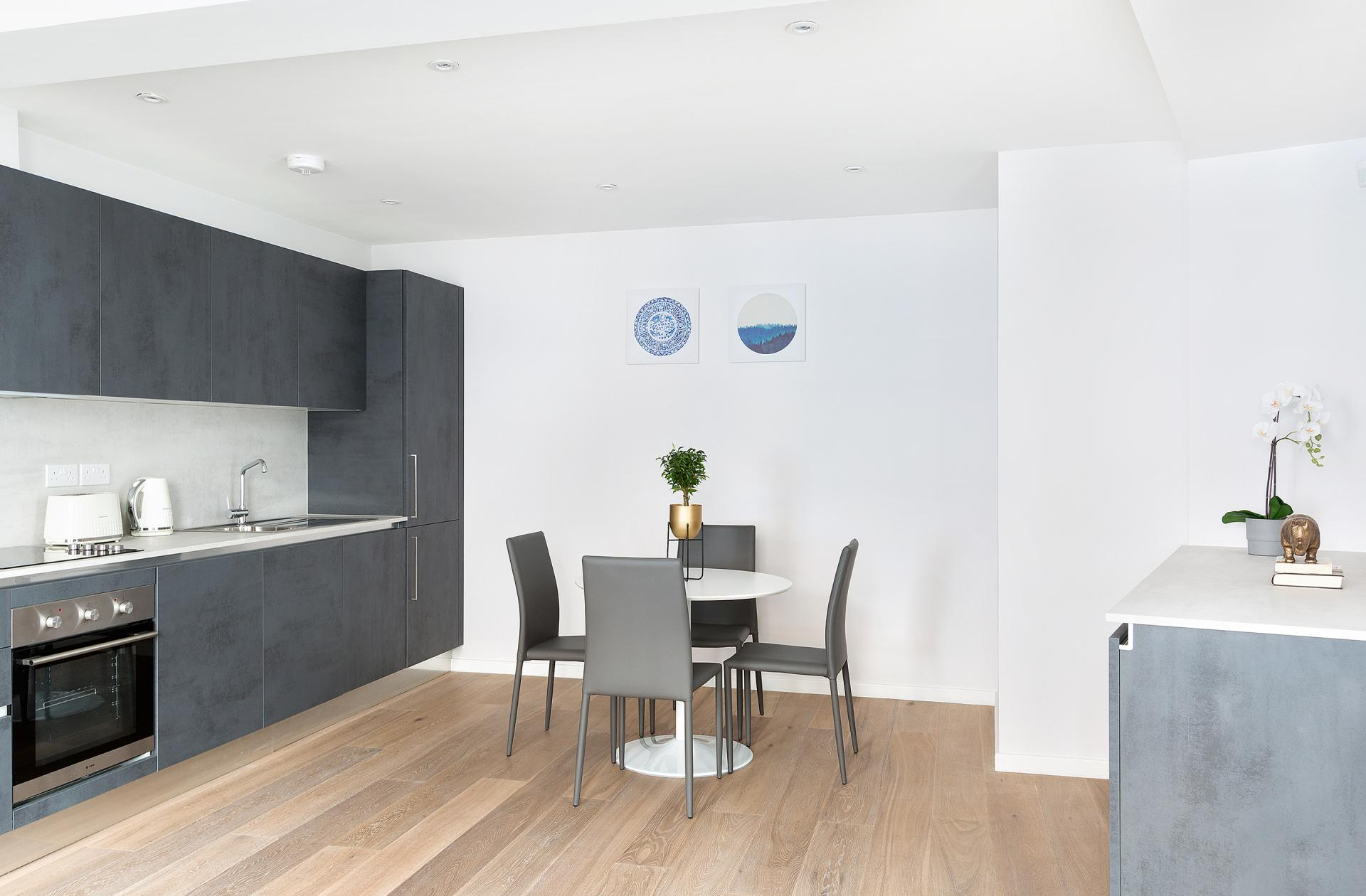 Dining table at Heart of Camden Apartments - Citybase Apartments
