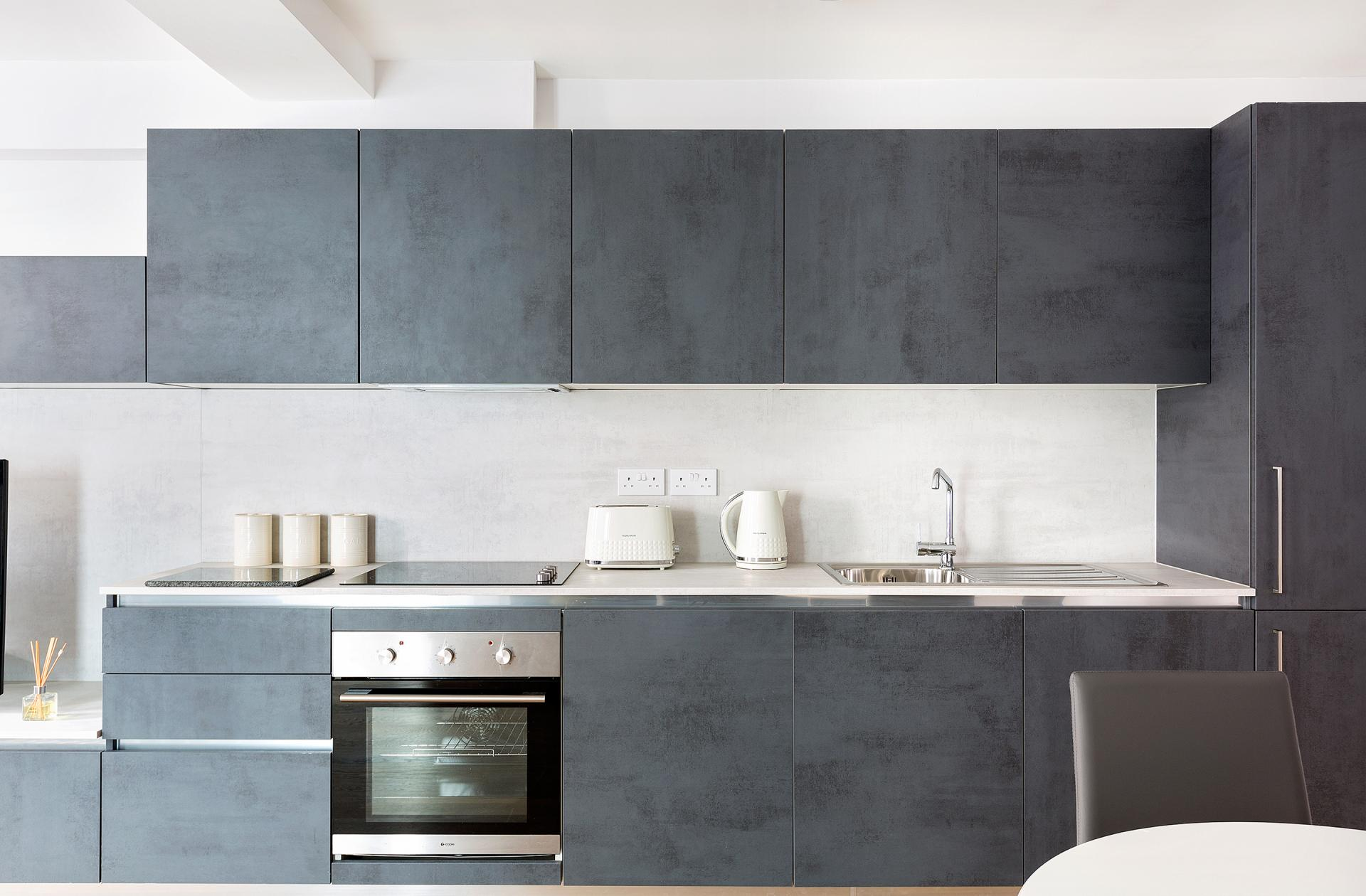 Kitchen at Heart of Camden Apartments - Citybase Apartments