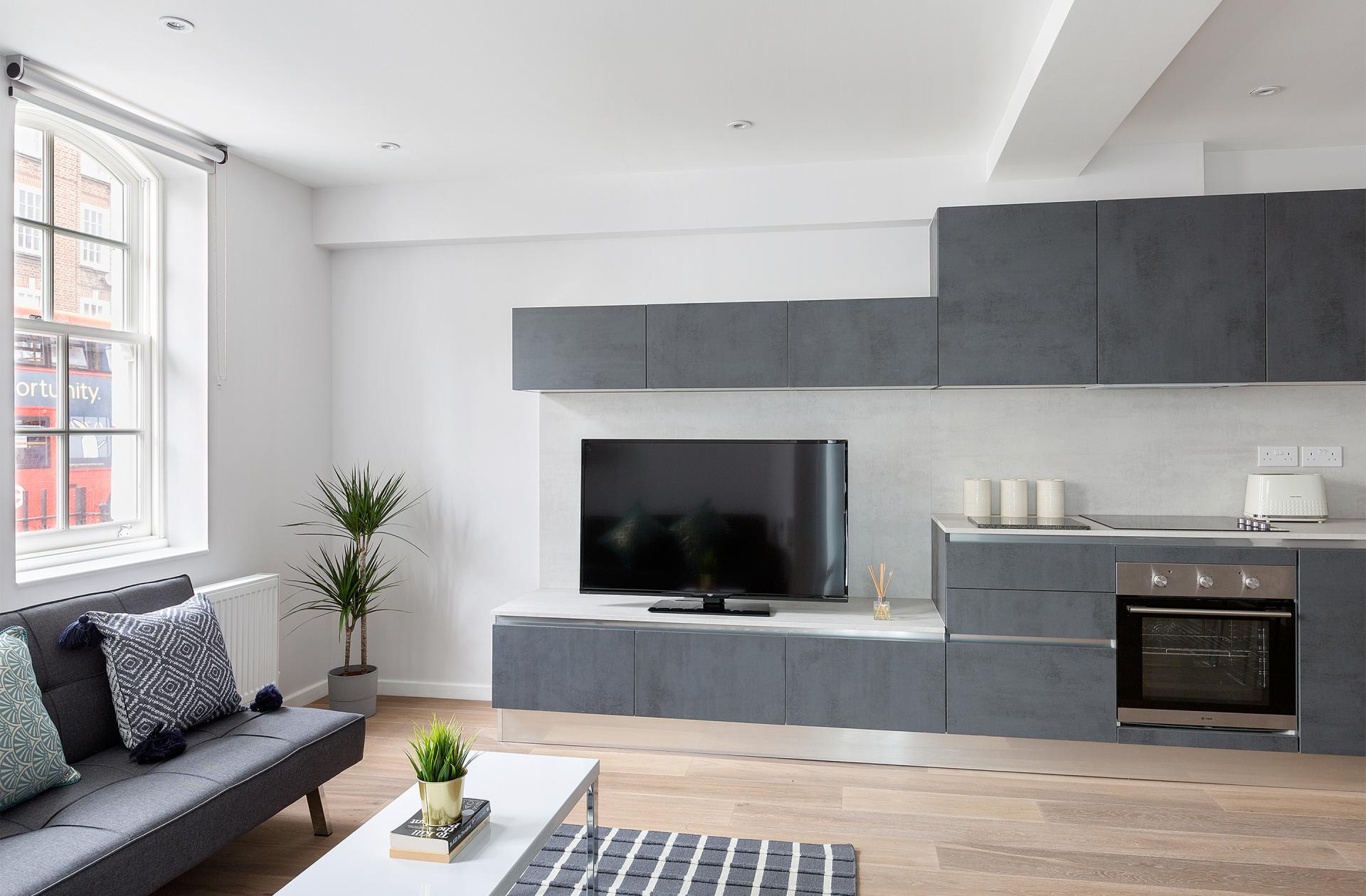 TV at Heart of Camden Apartments - Citybase Apartments