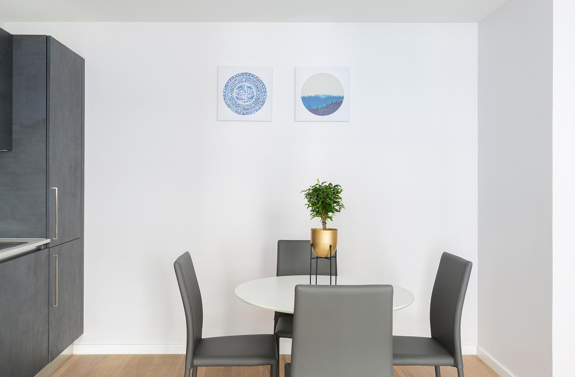 Seating area at Heart of Camden Apartments - Citybase Apartments