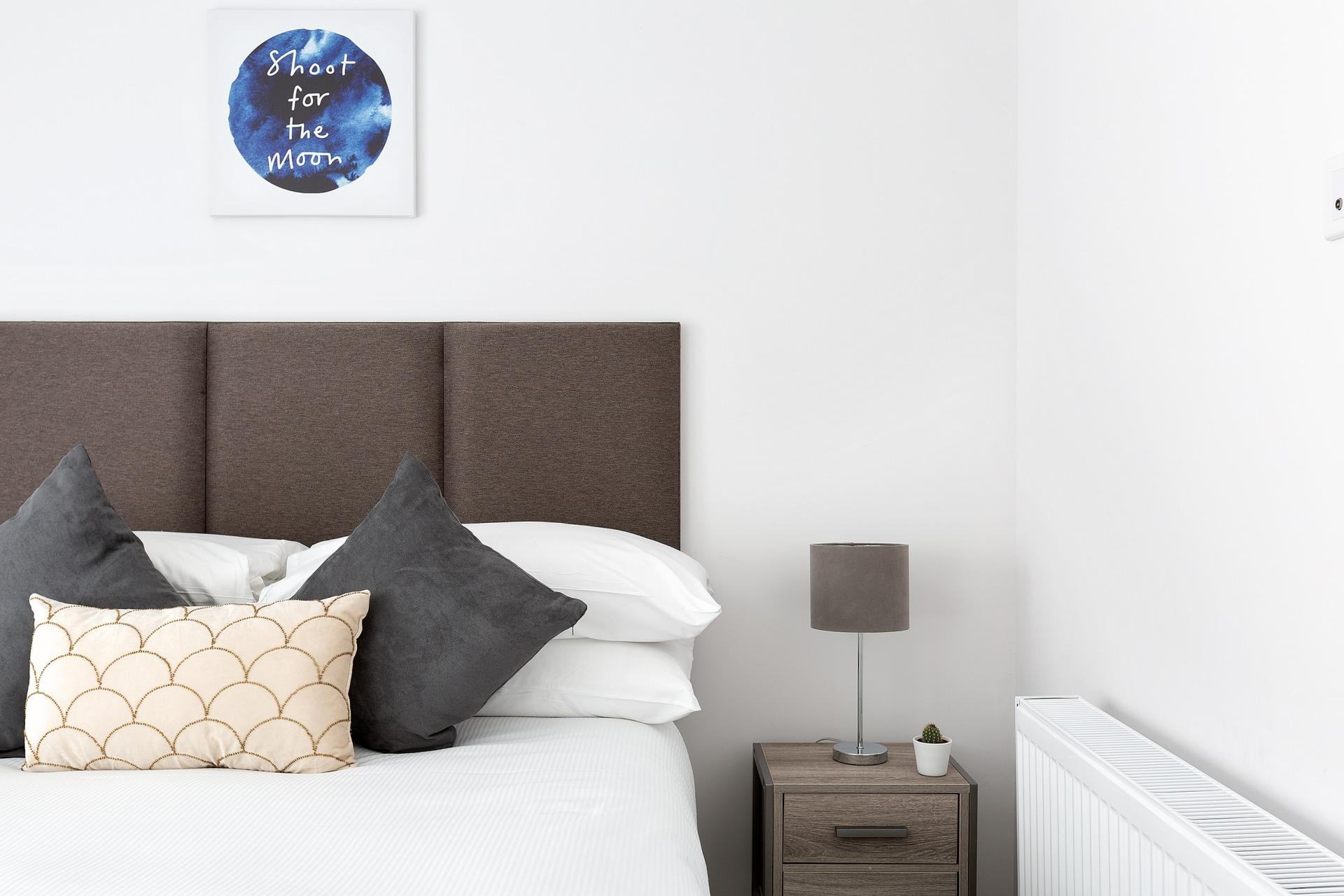 Bedroom at Heart of Camden Apartments - Citybase Apartments
