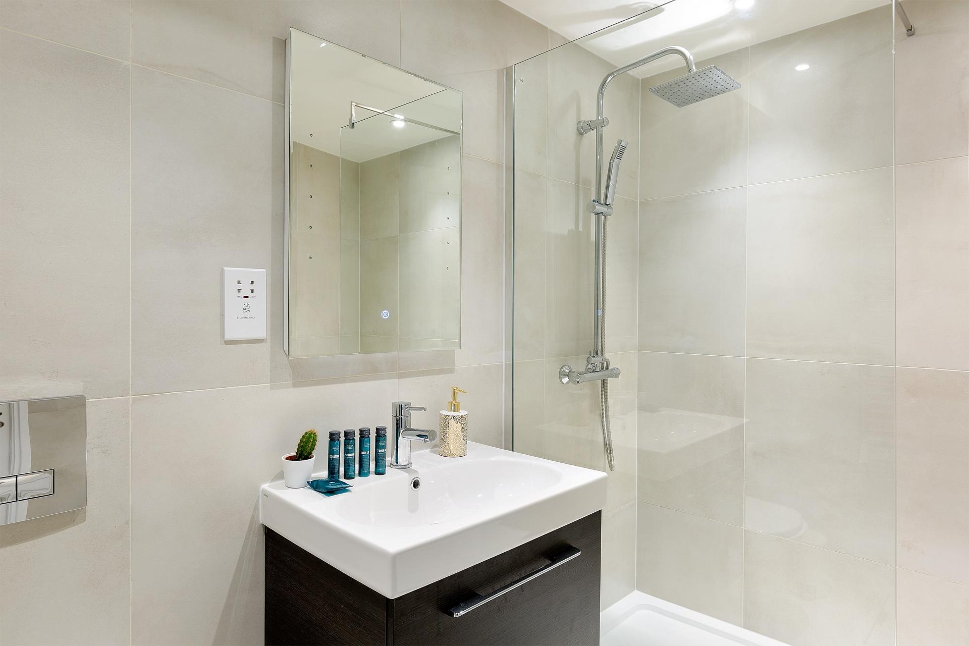 Bathroom at Heart of Camden Apartments - Citybase Apartments