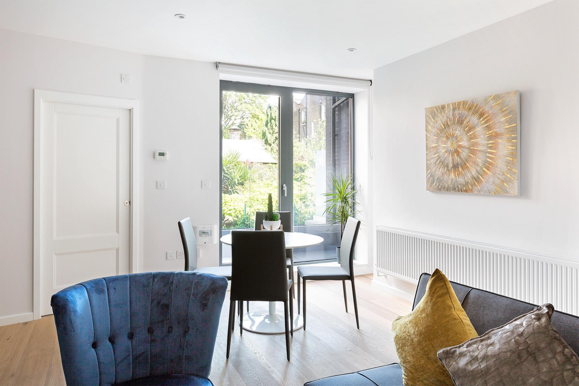 Living space at Heart of Camden Apartments - Citybase Apartments