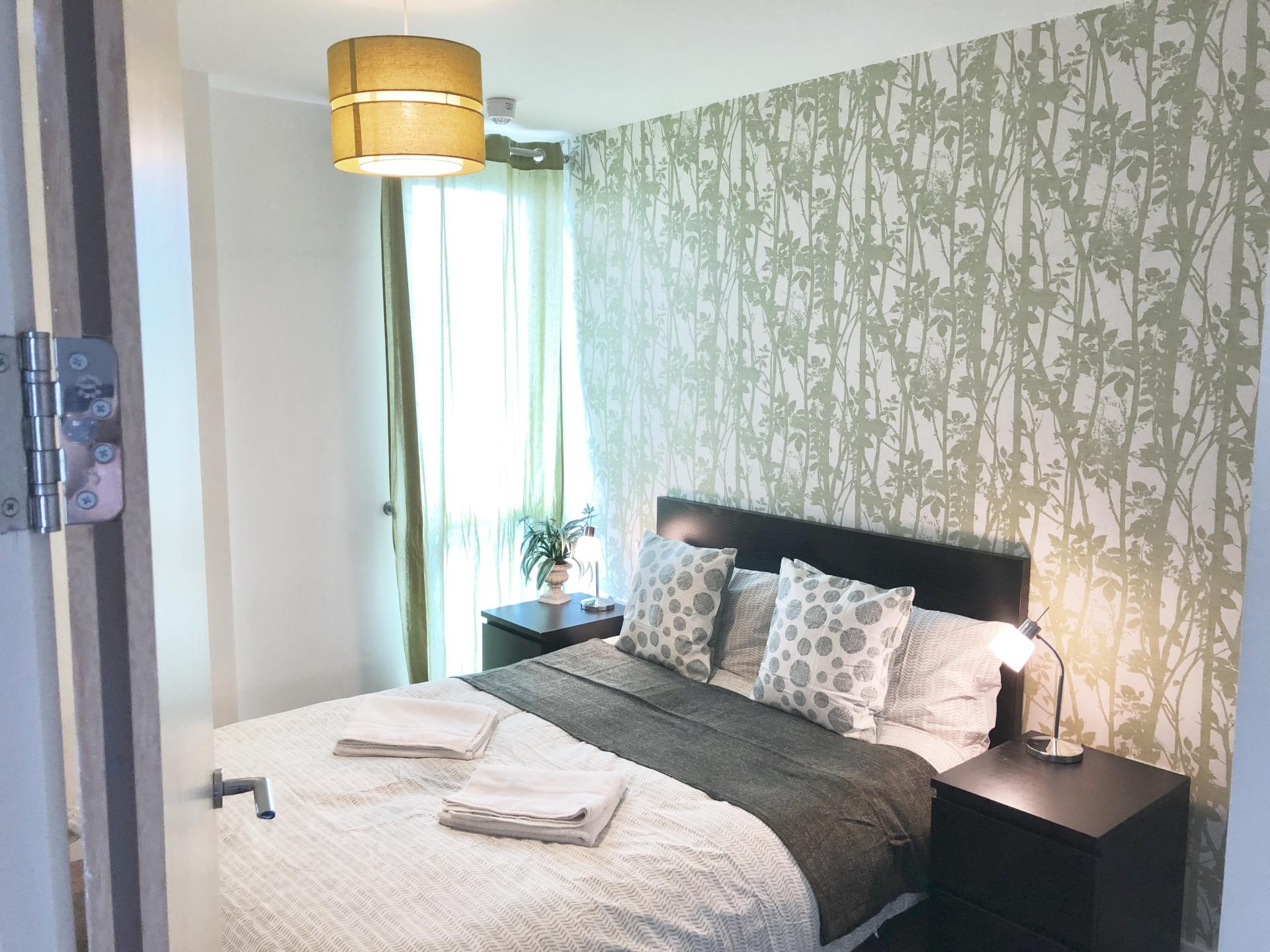 Bedroom at The Hub Serviced Apartments - Citybase Apartments