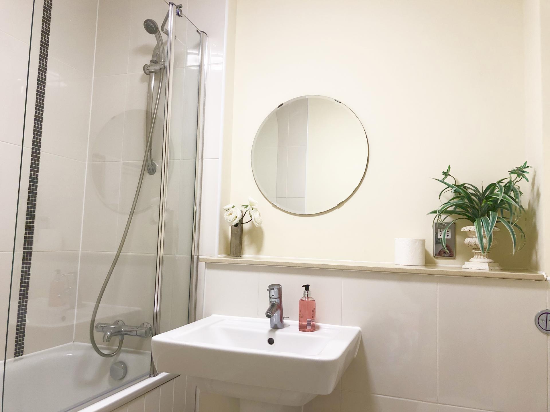 Bathroom at The Hub Serviced Apartments - Citybase Apartments