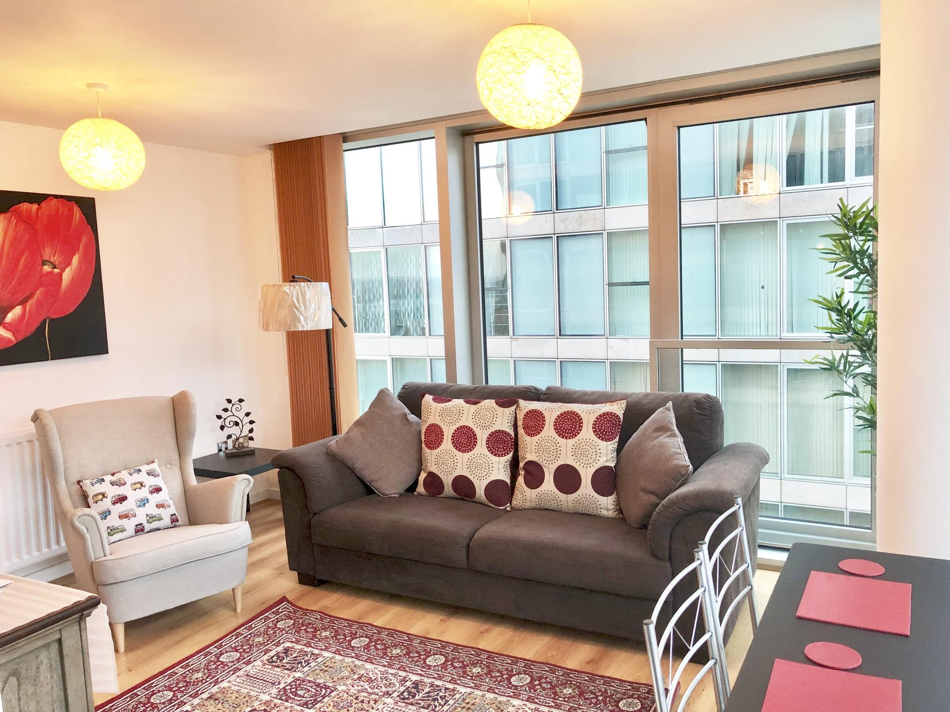 Chair at The Hub Serviced Apartments - Citybase Apartments