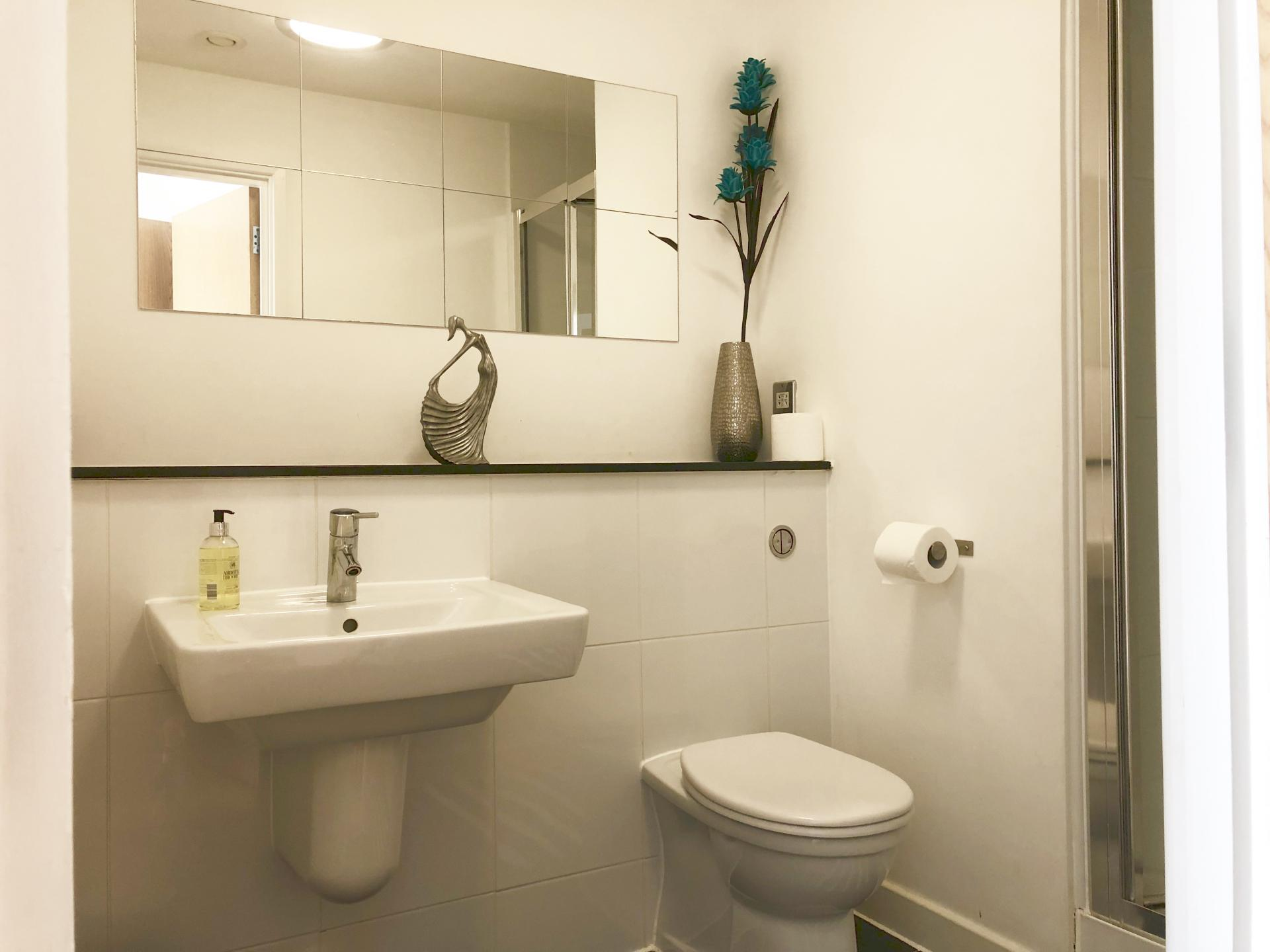 Sink at The Hub Serviced Apartments - Citybase Apartments