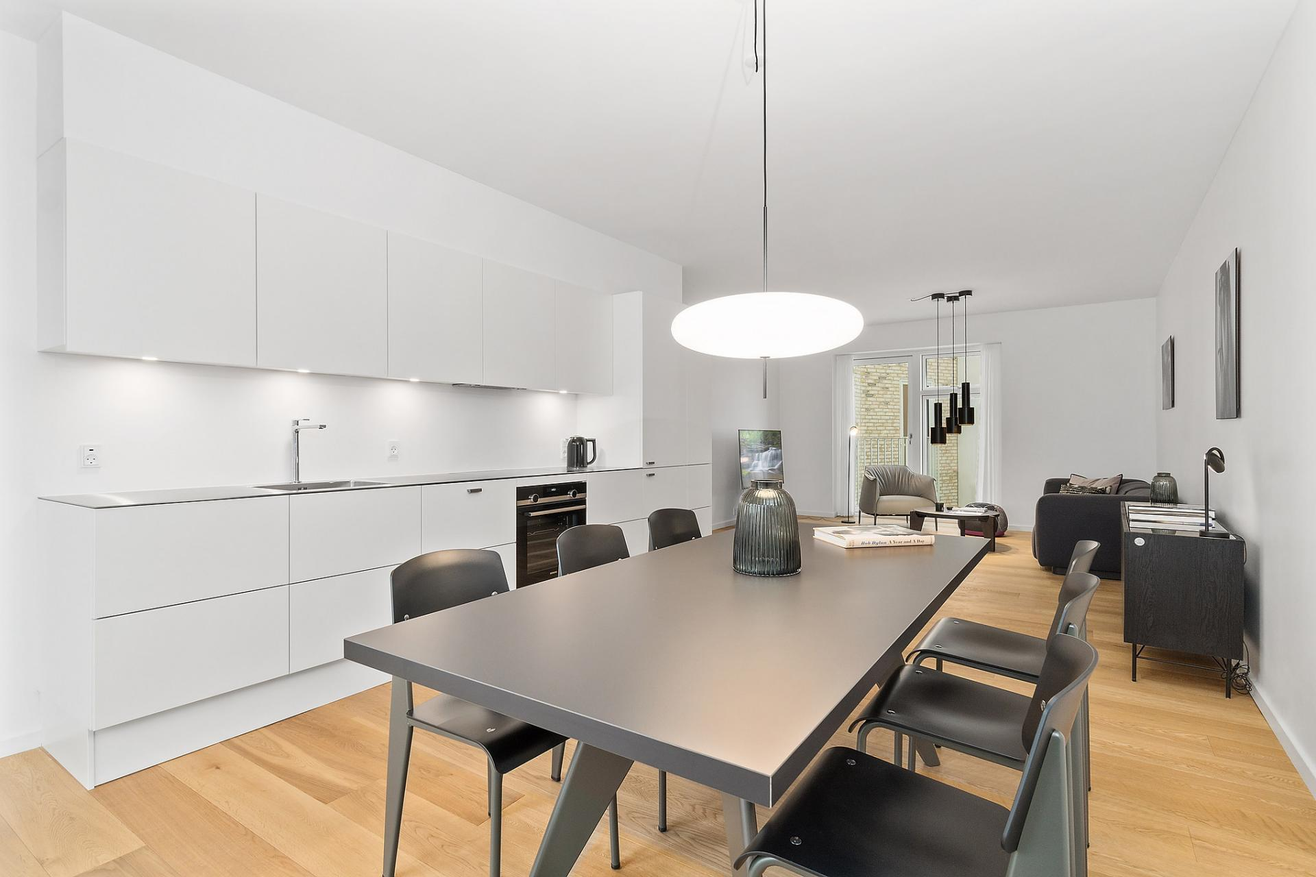 Dining table at Bryggen Apartments - Citybase Apartments