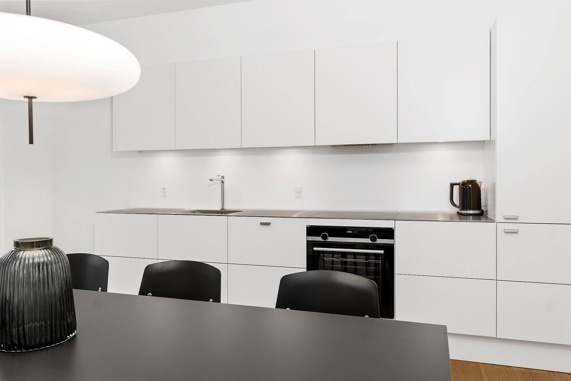 Kitchen at Bryggen Apartments - Citybase Apartments