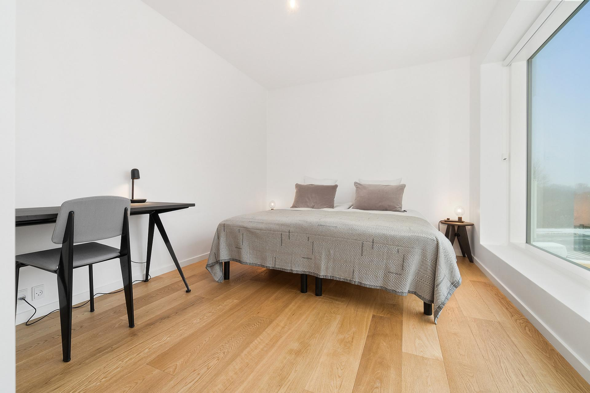 Spacious bedroom at Bryggen Apartments - Citybase Apartments