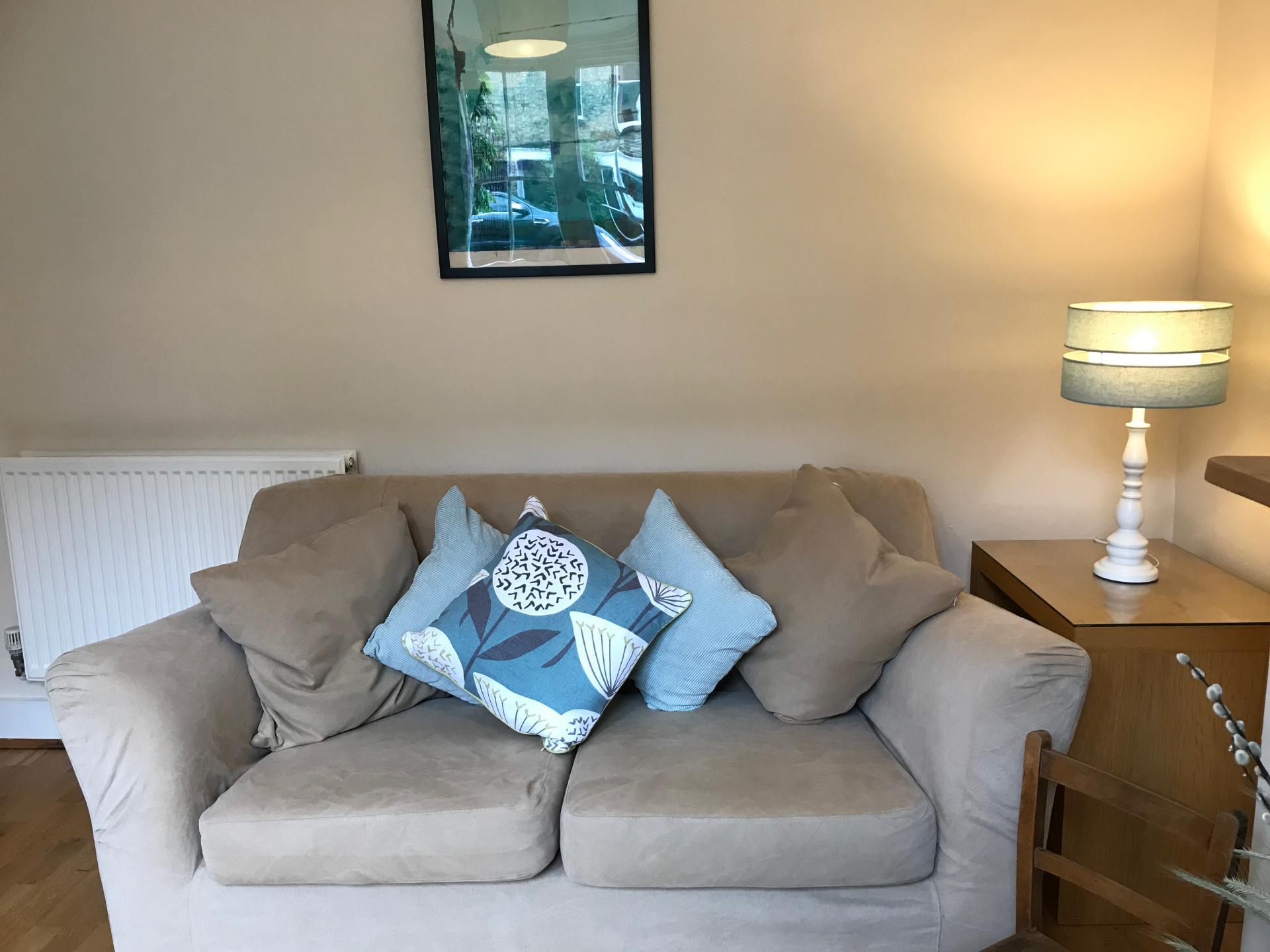 Sofa at Abbey Road Apartment - Citybase Apartments