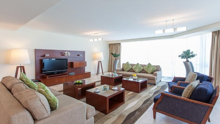 Traditional area in JA Oasis Beach Tower - Citybase Apartments