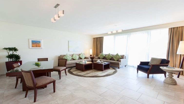 Stylish living area in JA Oasis Beach Tower - Citybase Apartments