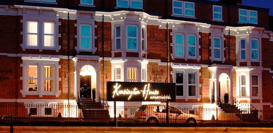 Exterior at Kensington House Apartments - Citybase Apartments