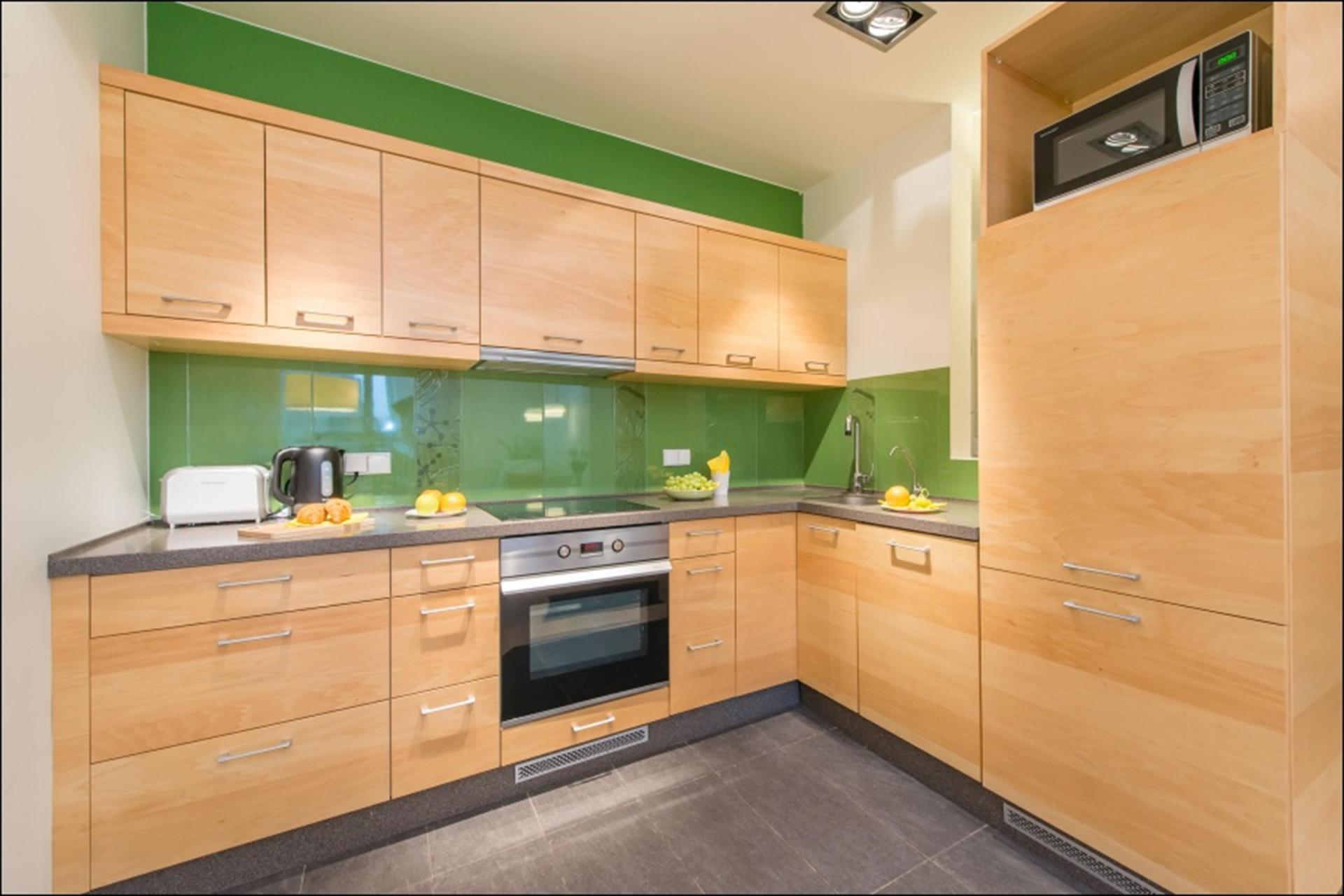 Kitchen at Wilanow 6 Apartments, Wilanów, Warsaw - Citybase Apartments