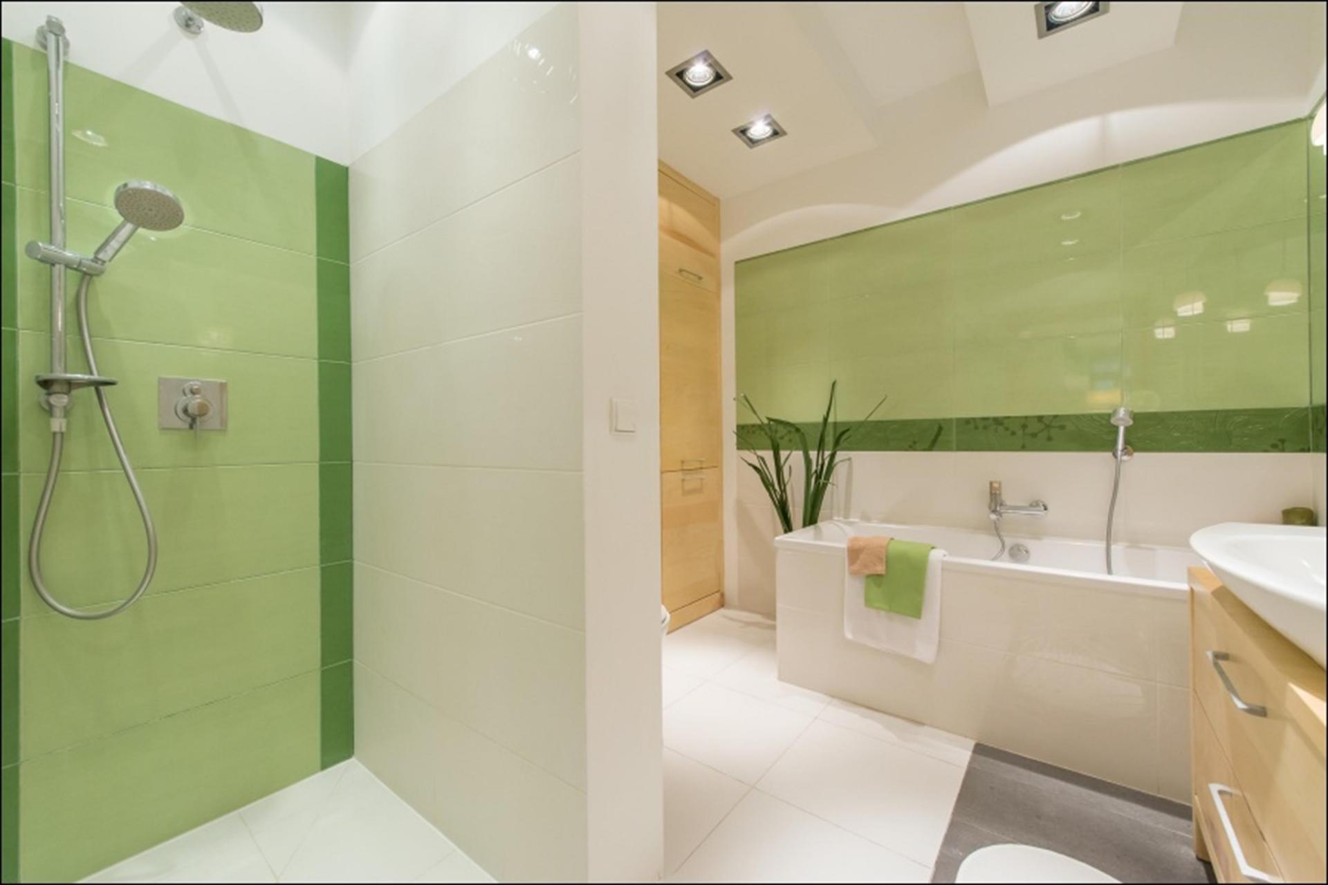 Bathroom at Wilanow 6 Apartments, Wilanów, Warsaw - Citybase Apartments