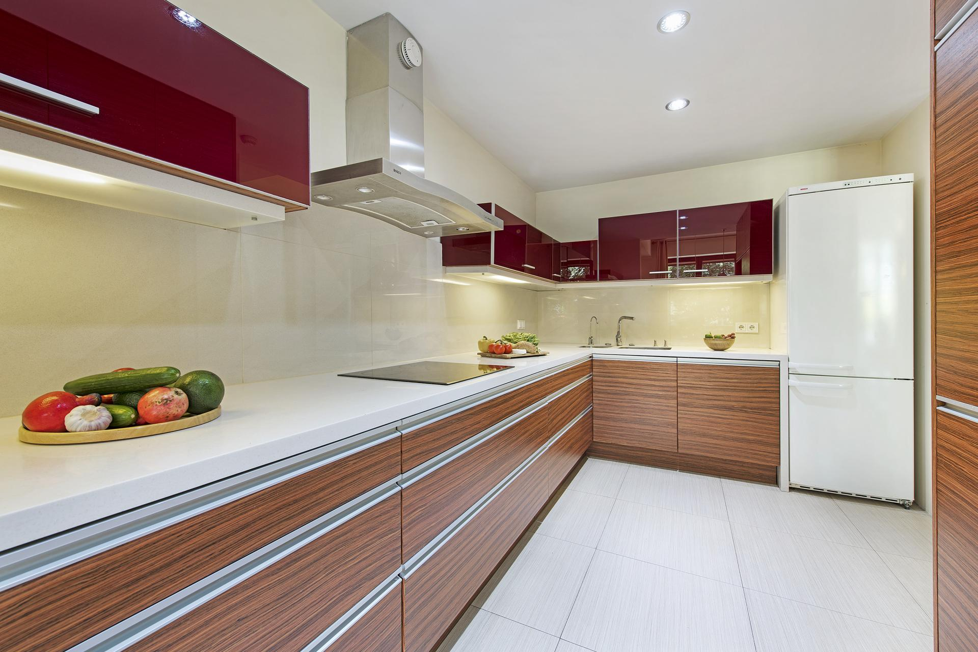 Fully equipped kitchen at Wilanow 6 Apartments, Wilanów, Warsaw - Citybase Apartments