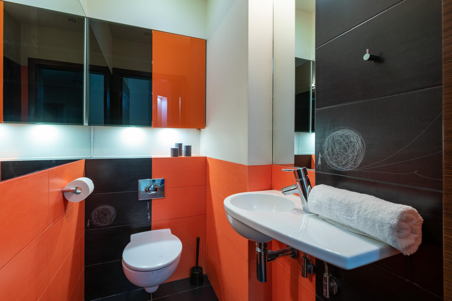 WC at Wilanow 6 Apartments, Wilanów, Warsaw - Citybase Apartments