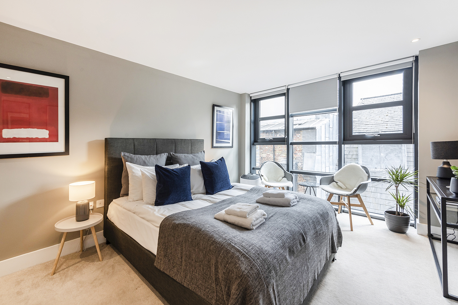 Bedroom at Bull Inn Court Apartment - Citybase Apartments