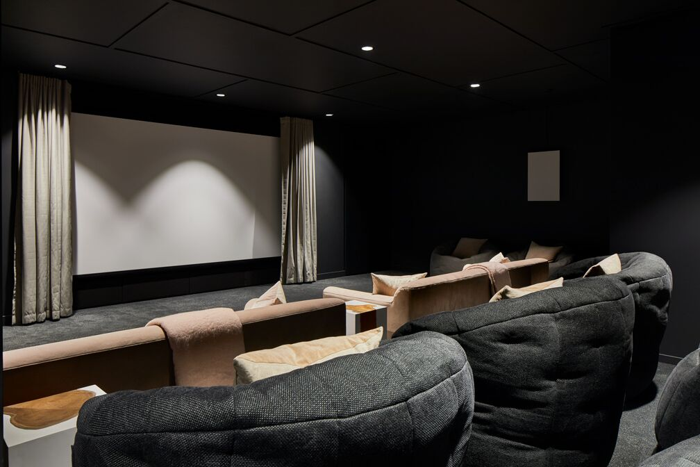 Cinema Room at Crossharbour Plaza Apartments, Isle of Dogs, London - Citybase Apartments