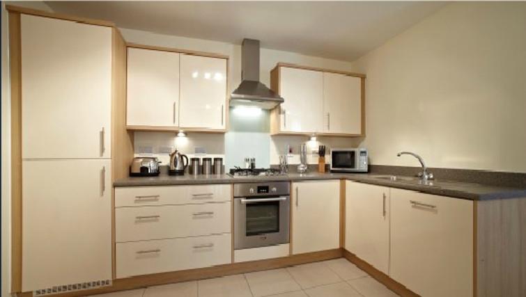 Stunning kitchen in Ibex House - Citybase Apartments