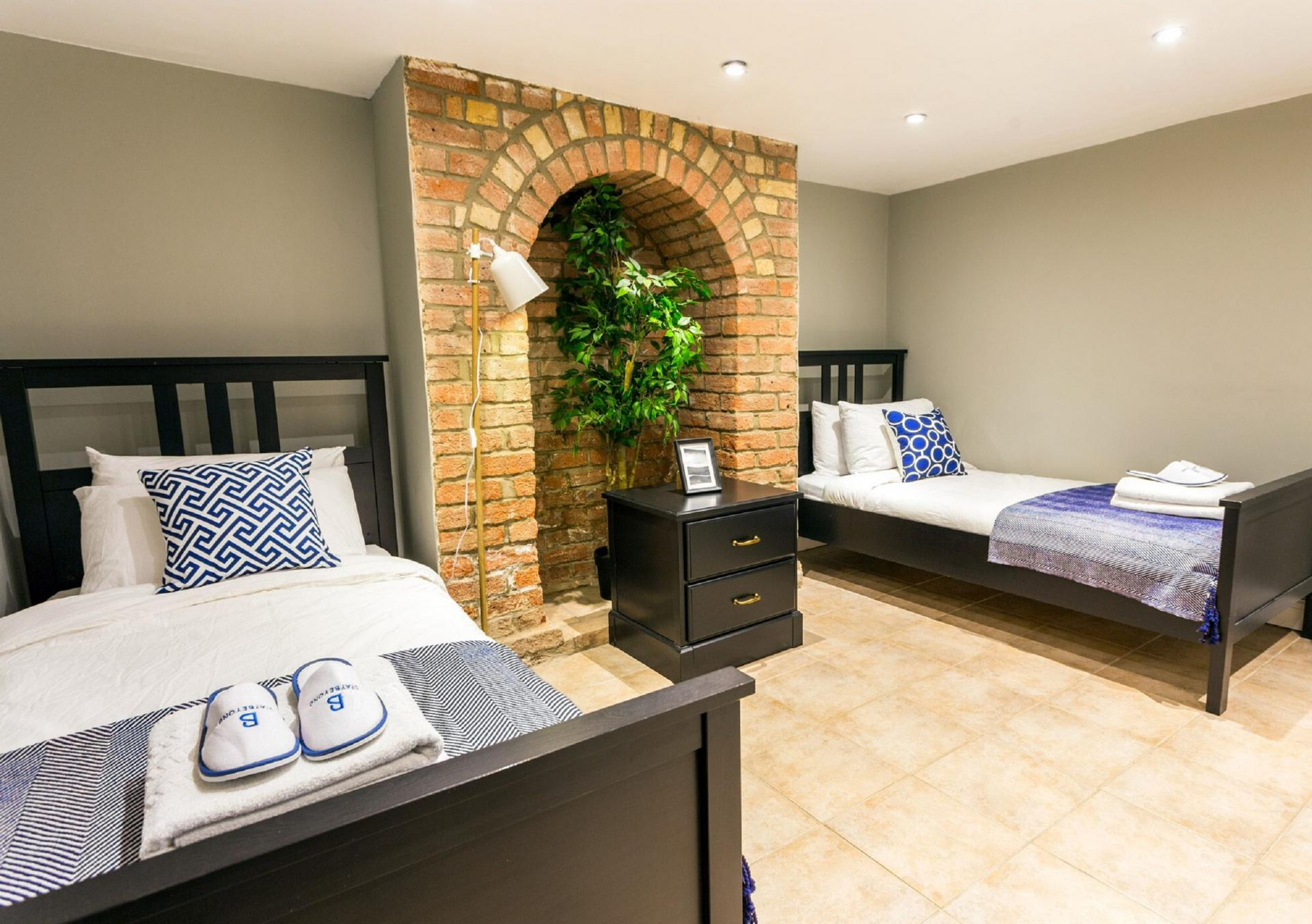 Exposed brick at The River Cam Place, Centre, Cambridge - Citybase Apartments