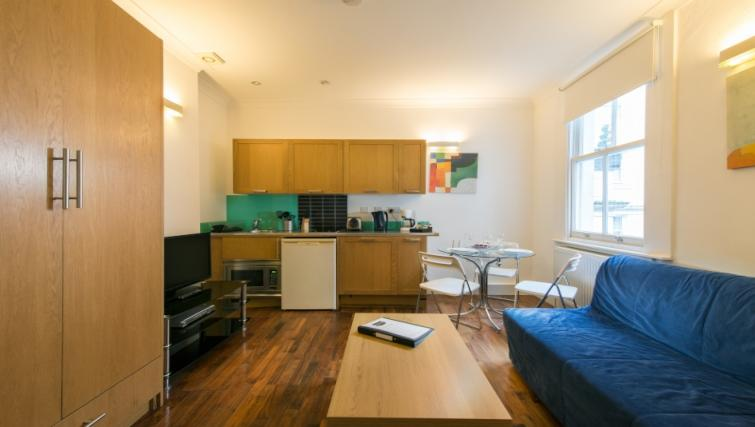 Kitchen at High Street Kensington Apartments - Citybase Apartments