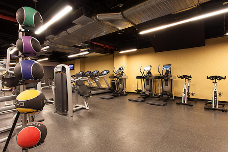 Gym at 116 John Street Corporate Housing - Citybase Apartments
