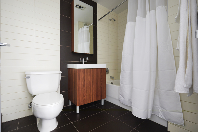 Bathroom at 116 John Street Corporate Housing - Citybase Apartments
