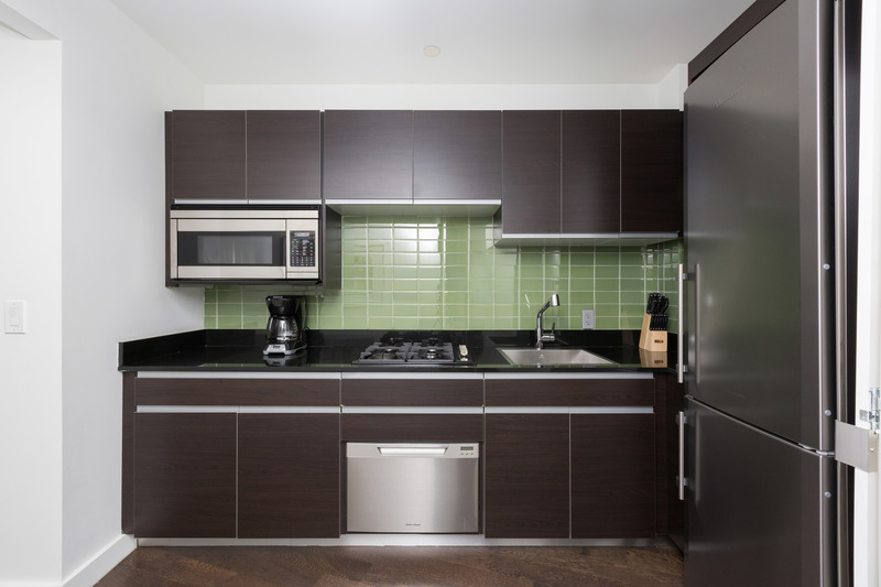 Kitchen at 116 John Street Corporate Housing - Citybase Apartments