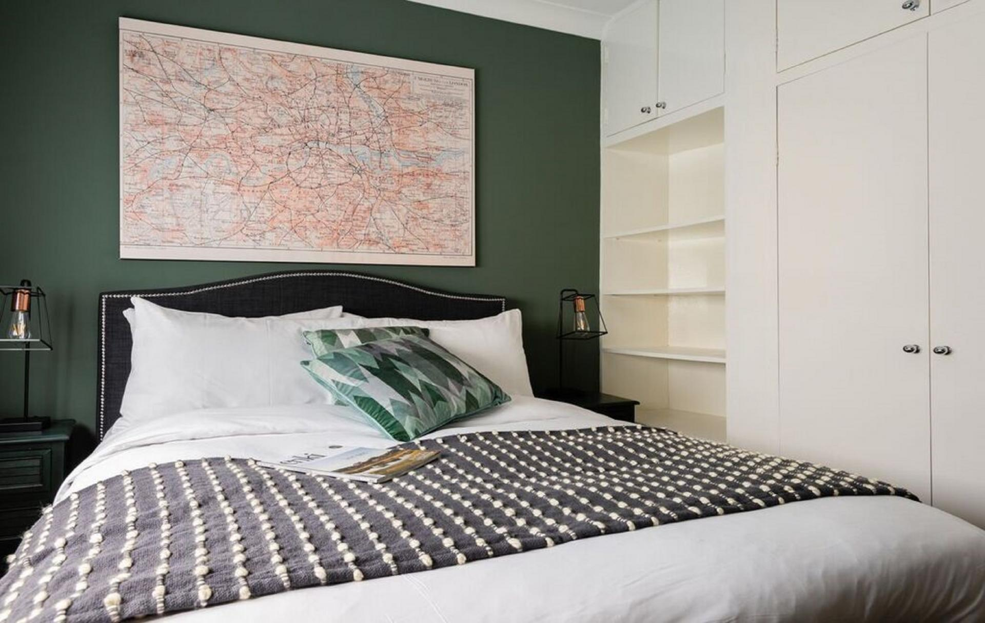 Bedroom at The Kensington Palace Mews, Kensington, London - Citybase Apartments