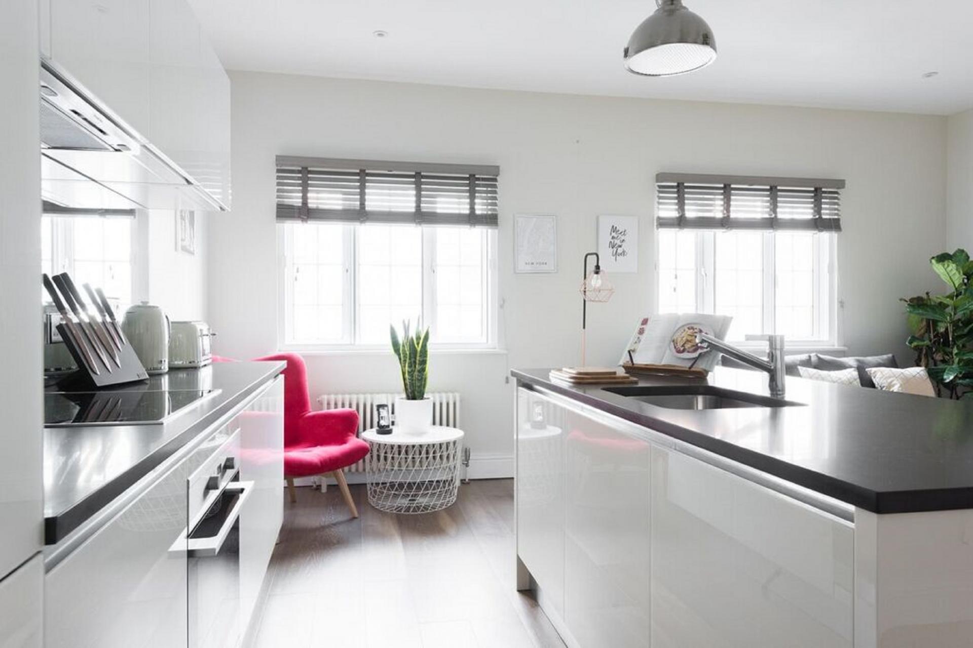 Kitchen at The Soho Studio Apartment, Paddington, London - Citybase Apartments
