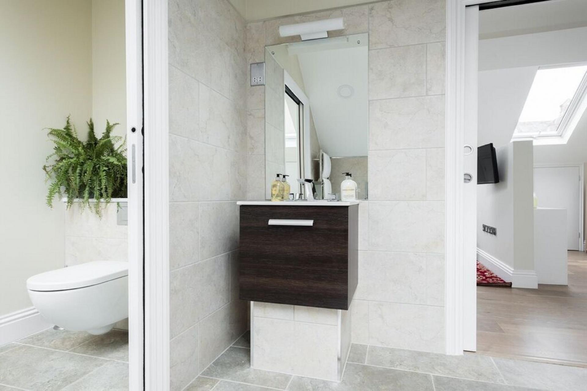 WC at The Soho Studio Apartment, Paddington, London - Citybase Apartments