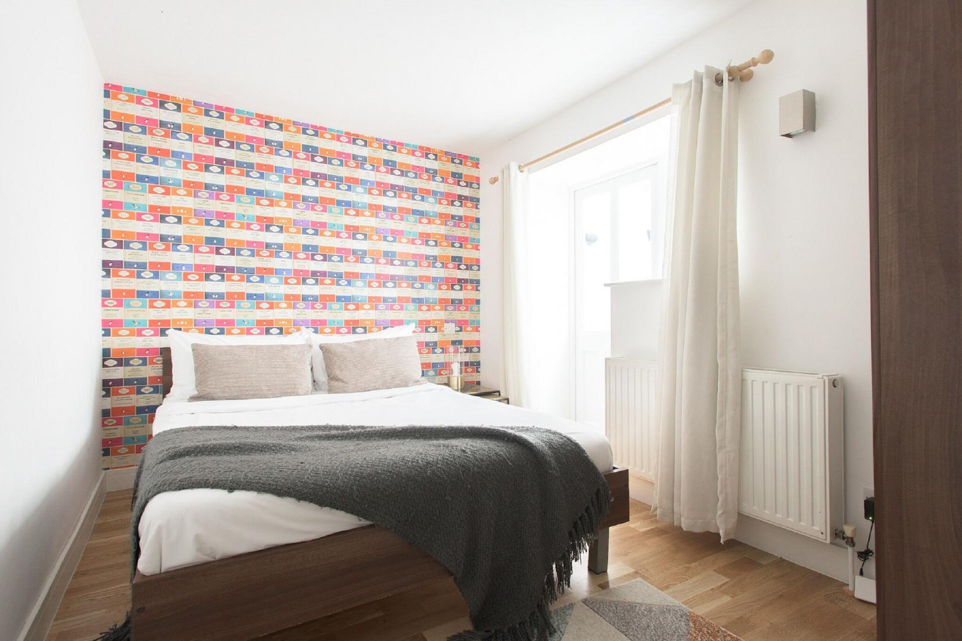 Bedroom at The Paddington Maisonette, Paddington, London - Citybase Apartments