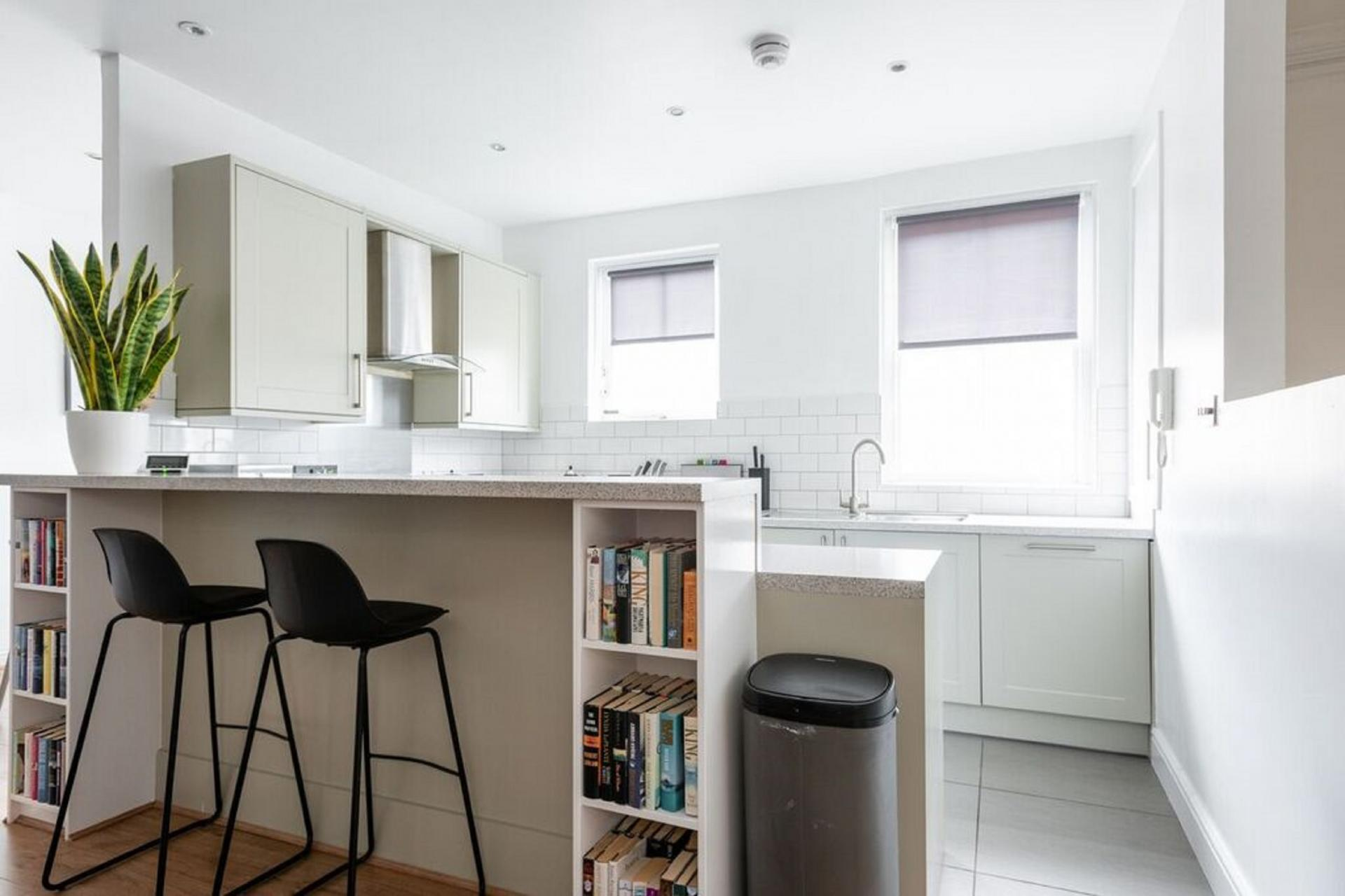 Kitchen at The Paddington Mews, Paddington, London - Citybase Apartments