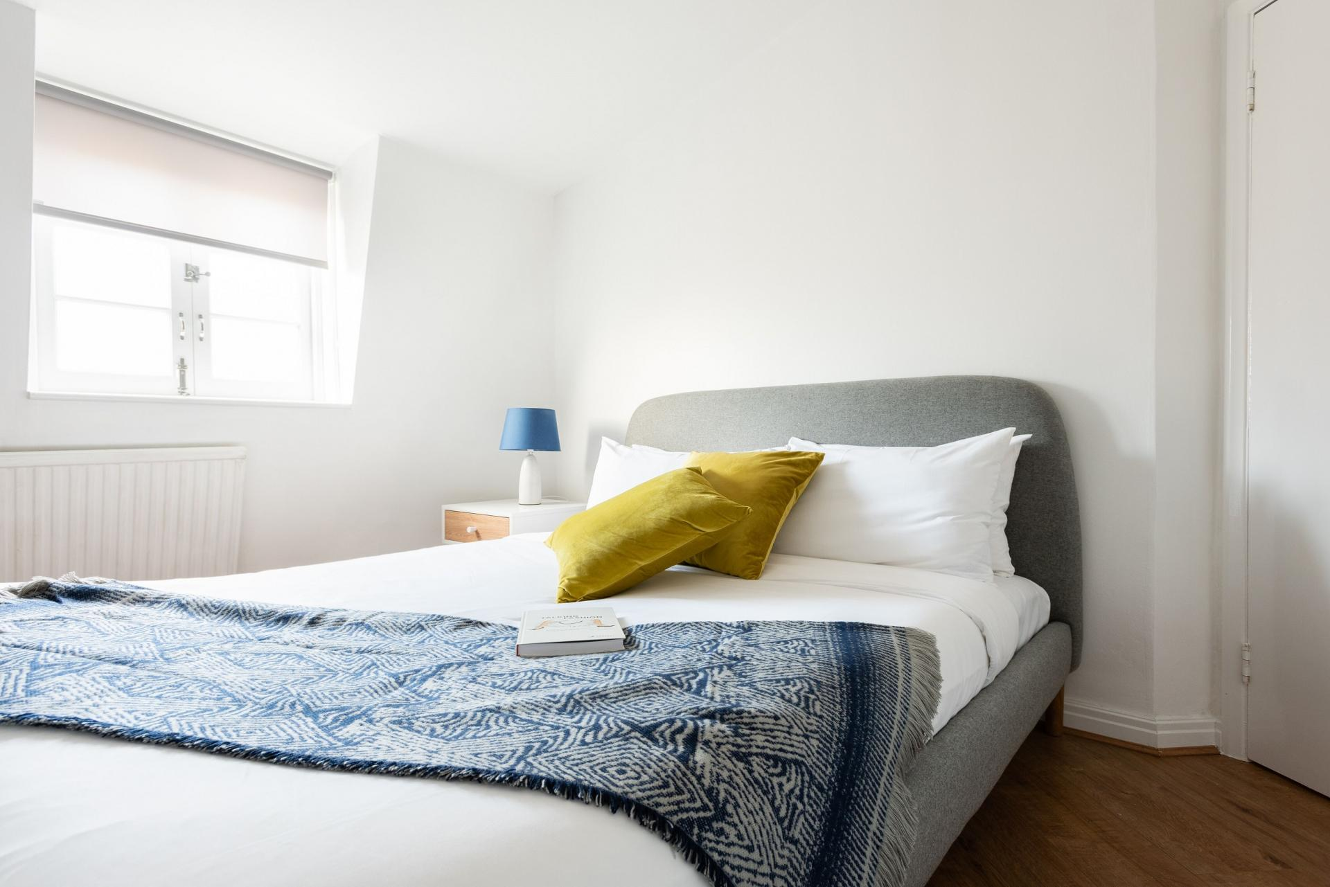 Bedroom at The Paddington Mews, Paddington, London - Citybase Apartments
