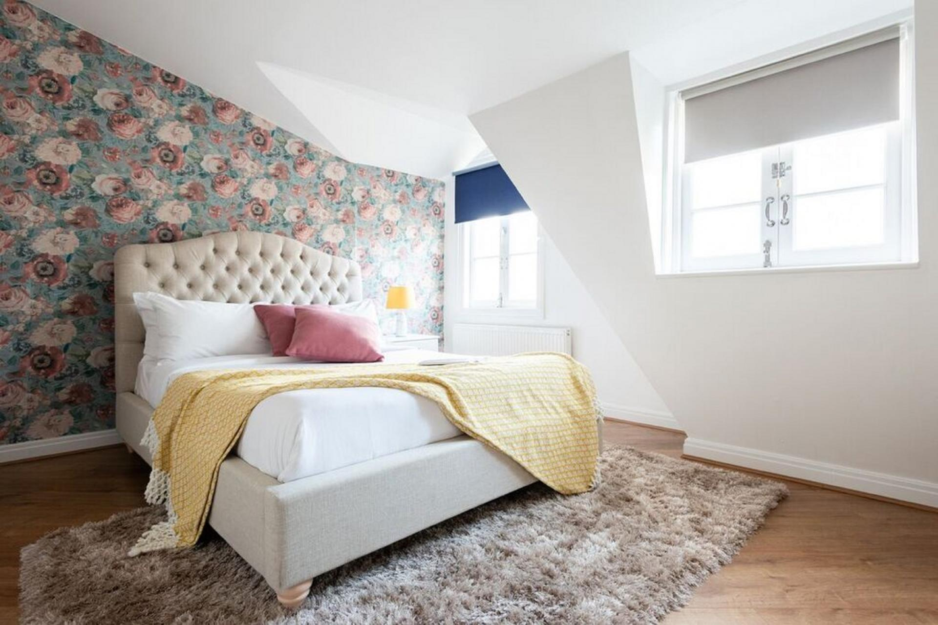 Bed at The Paddington Mews, Paddington, London - Citybase Apartments